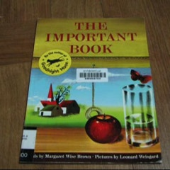 『The Important Book 』