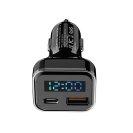 볼트미터 볼트체커 B06 3구소켓 120W 대용량 USB 3.1A 차량용 시거잭 충전기 차량진단