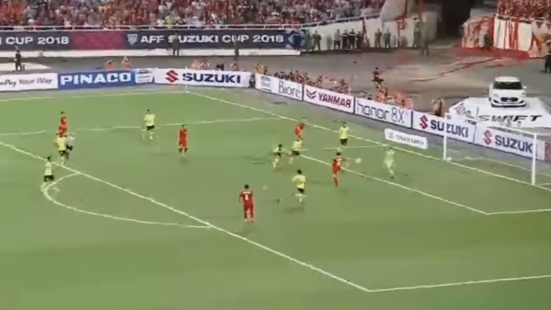 베트남 축구 말레이시아에 2대0 승리 하이라이트(2018스즈키컵)