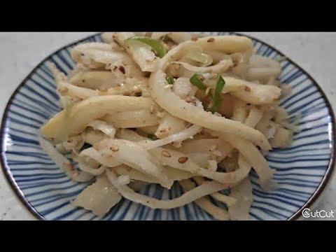 명절 도라지볶음 만드는법/도라지 쓴맛없애는 방법/명절나물볶음/도라지 요리/효능
