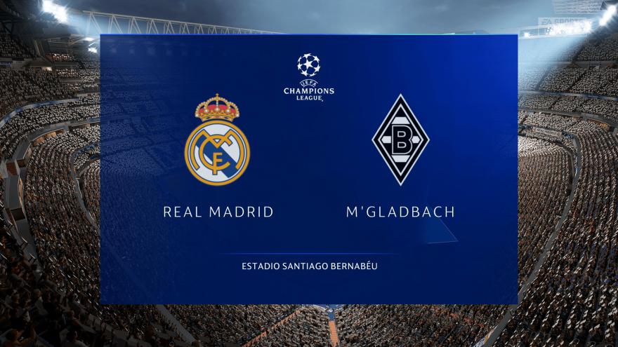 레알마드리드 VS 뮌헨글라트바흐 벤제마 멀티골 시뮬레이션 하이라이트