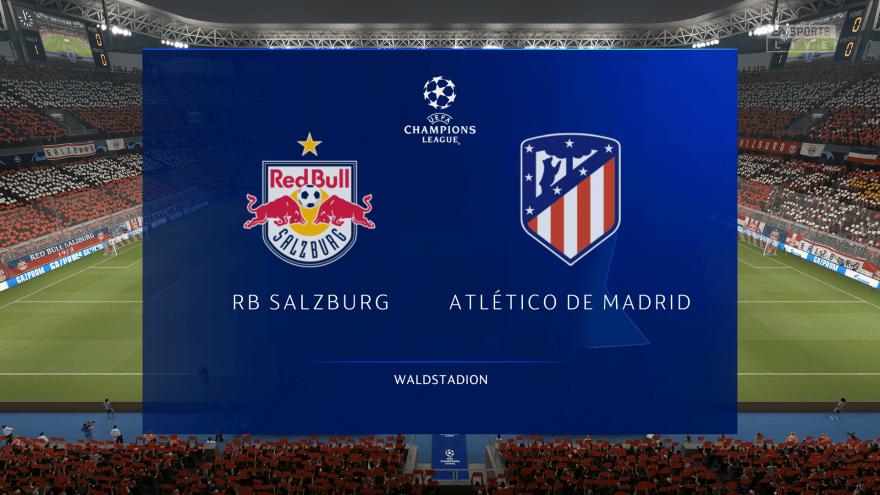 잘츠부르크 VS AT 마드리드 0:2 승 시뮬레이션 하이라이트