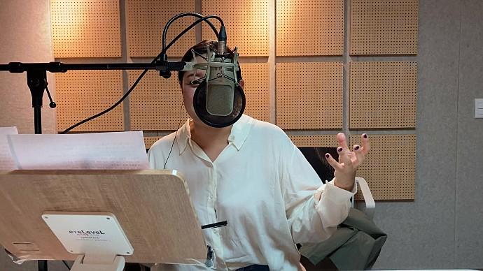 성우 유승화의 인어공주 '무슬라' 연기