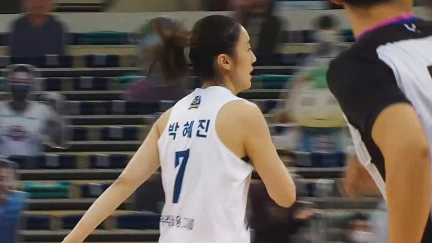 역대 7번째' 통산 600 3득점 이후 601호까지 성공시키는 박혜진