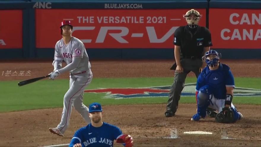 오타니 시즌 3호 홈런